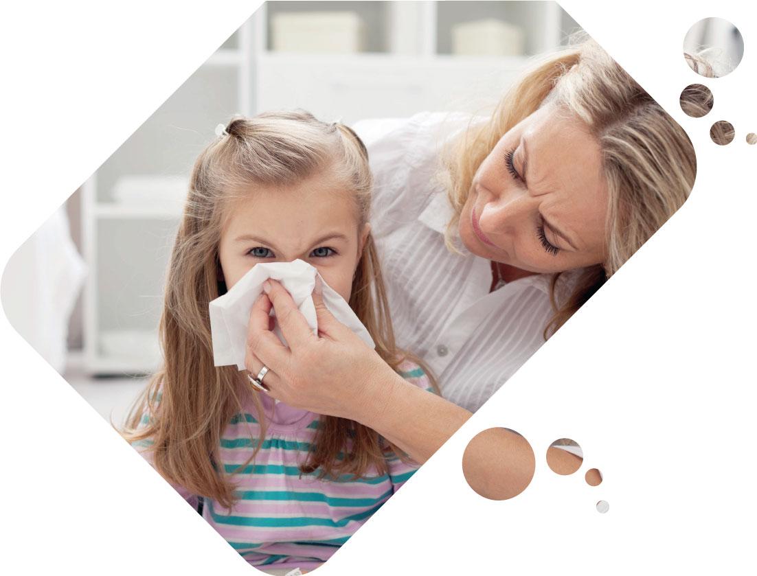 SOL-ONE girl sneezes